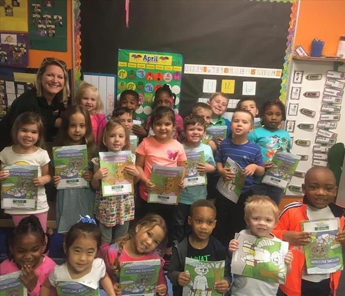 Local Pre-K Kids get a visit from SERVPRO