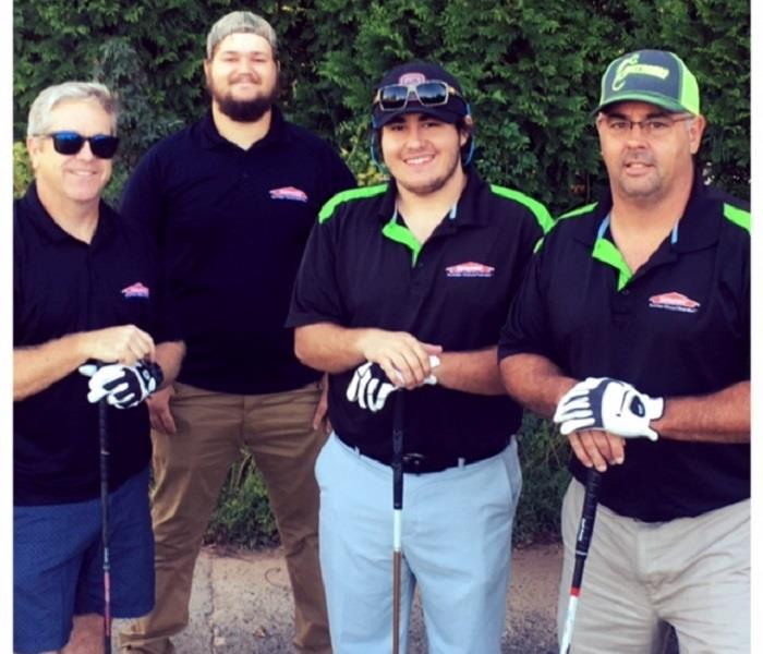 SERVPRO tees it up!