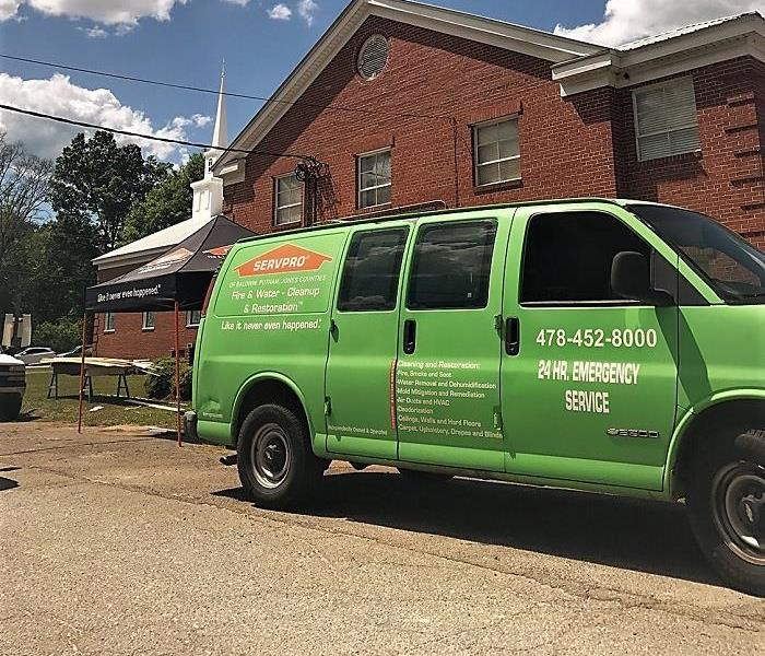 SERVPRO at your service - 24/7